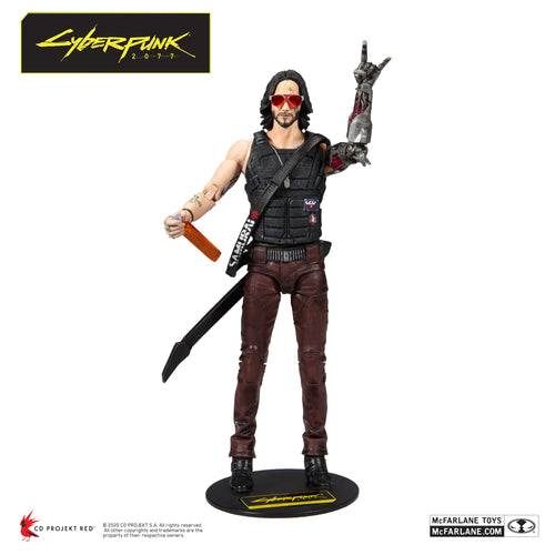 Cyberpunk 2077 Johnny Silverhand Action Figure by McFarlane Toys