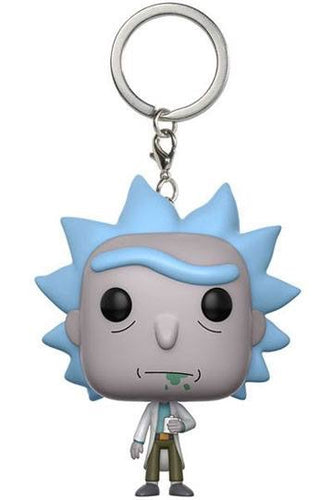Rick and Morty Official Rick Keychain by Funko Pop!