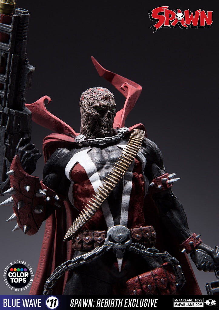 "Spawn Rebirth Official 7"" Alternate Version Figure By Mcfarlane Toys"