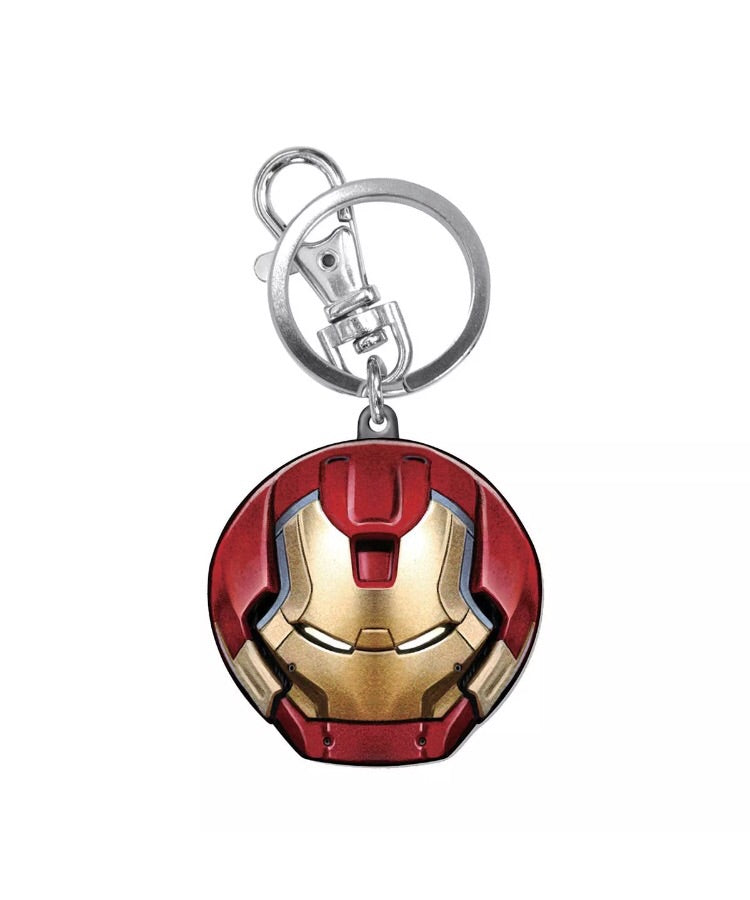 MARVEL Hulkbuster Helmet Official Colour Pewter Keychain by Monogram