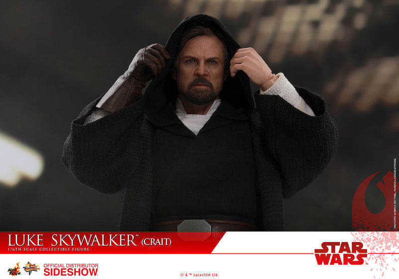 Star Wars The Last Jedi Luke Skywalker 1:6 Crait Action Figure - Hot Toys
