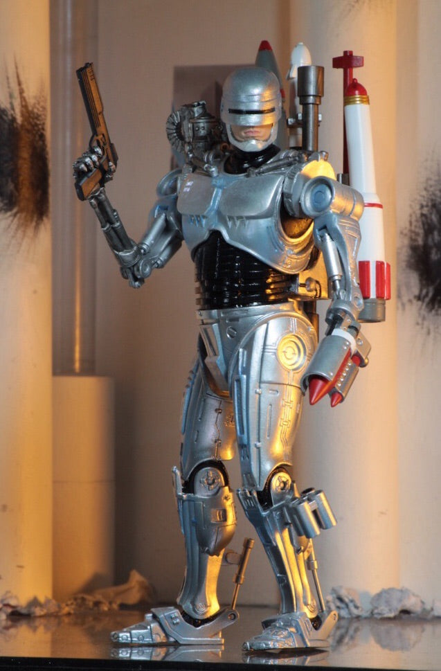 Robocop vs Terminator Official Robocop Ultimate Figure by NECA