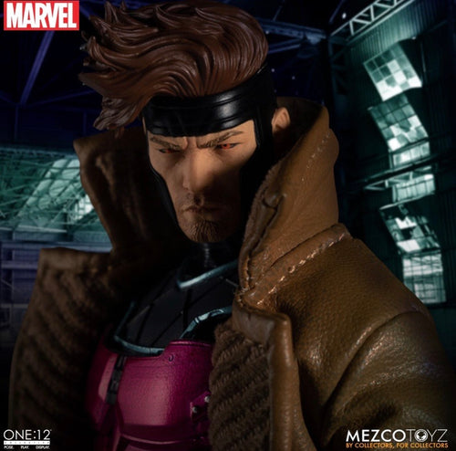 MARVEL X-Men Gambit One:12 Collective Action Figure - Mezco Toyz