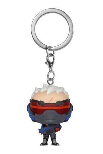 Overwatch Soldier 76 Official Keychainby Funko Pop!