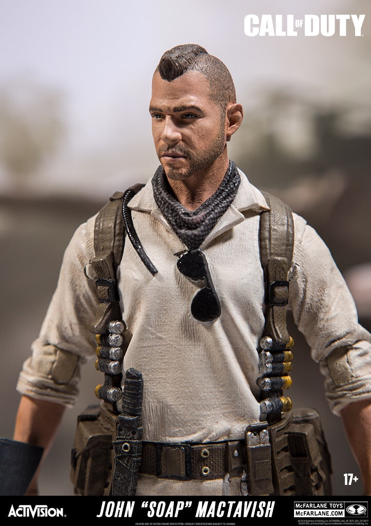 Call of Duty Black Ops 4 Official Soap Figure by McFarlane Toys