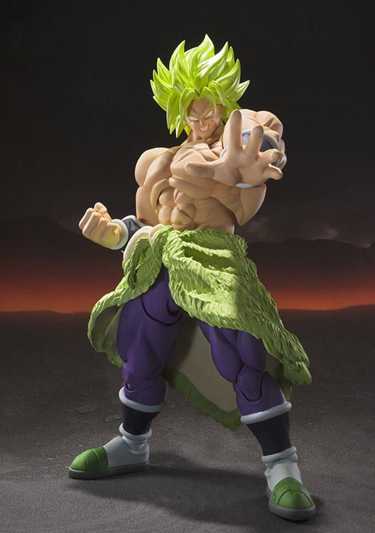 Dragonball Super Saiyan Broly Fullpower S.H.Figuarts Action Figure - Bandai Tamashii Nations