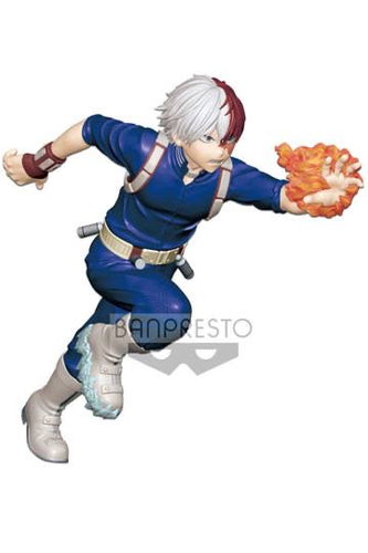 My Hero Academia Shoto Todoroki Enter the Hero Statue Banpresto