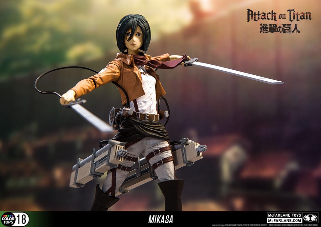 Attack on Titan Official Mikasa Ackerman 7