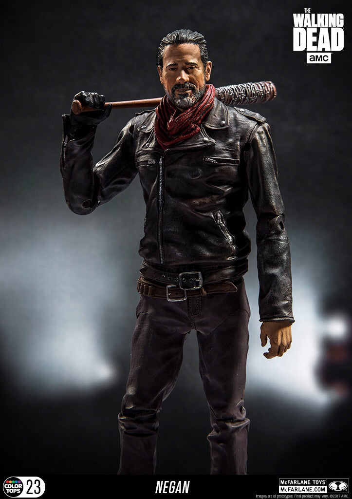 The Walking Dead Official Neagan Figure Bloody Version Mcfarlane Toys