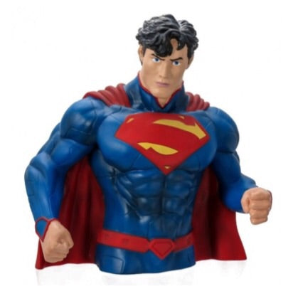 DC Comics Official Superman New 52 Bust Bank by Monogram