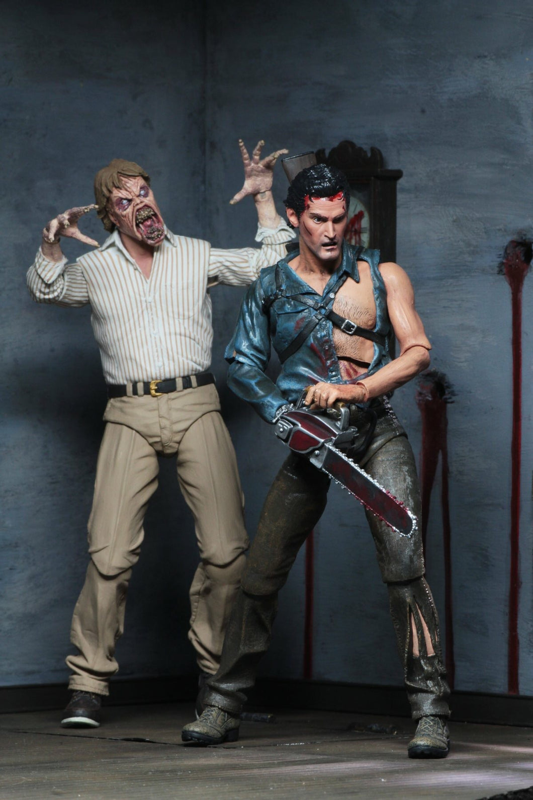 Evil Dead 2 30th Anniversary Ash & Ed Official Ultimate Figures NECA