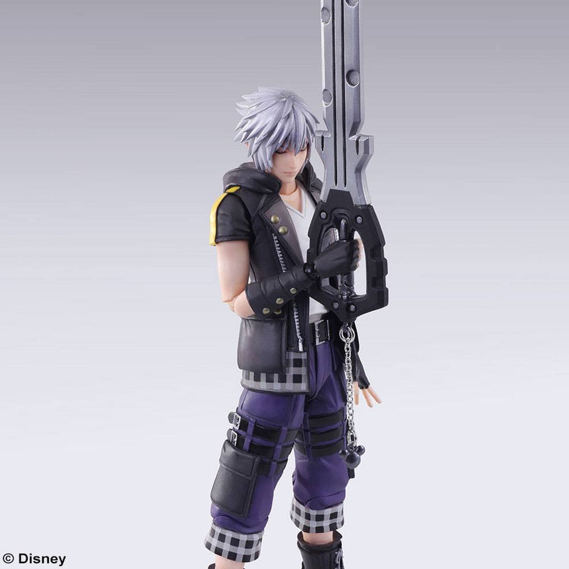 Kingdom Hearts 3 Bring Arts Official Riku 16cm Figure by Square Enix