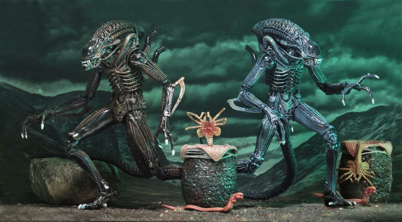 Aliens Official Ultimate Xenomorph Figures by NECA