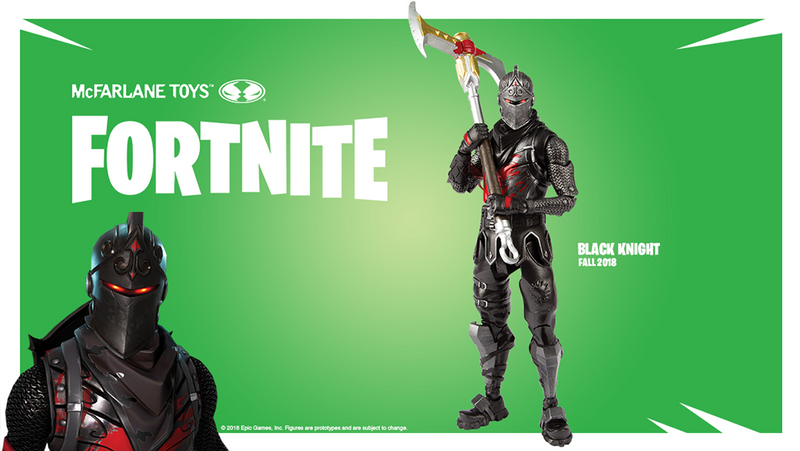 Fortnite Official Black Knight Figure by McFarlane Toys