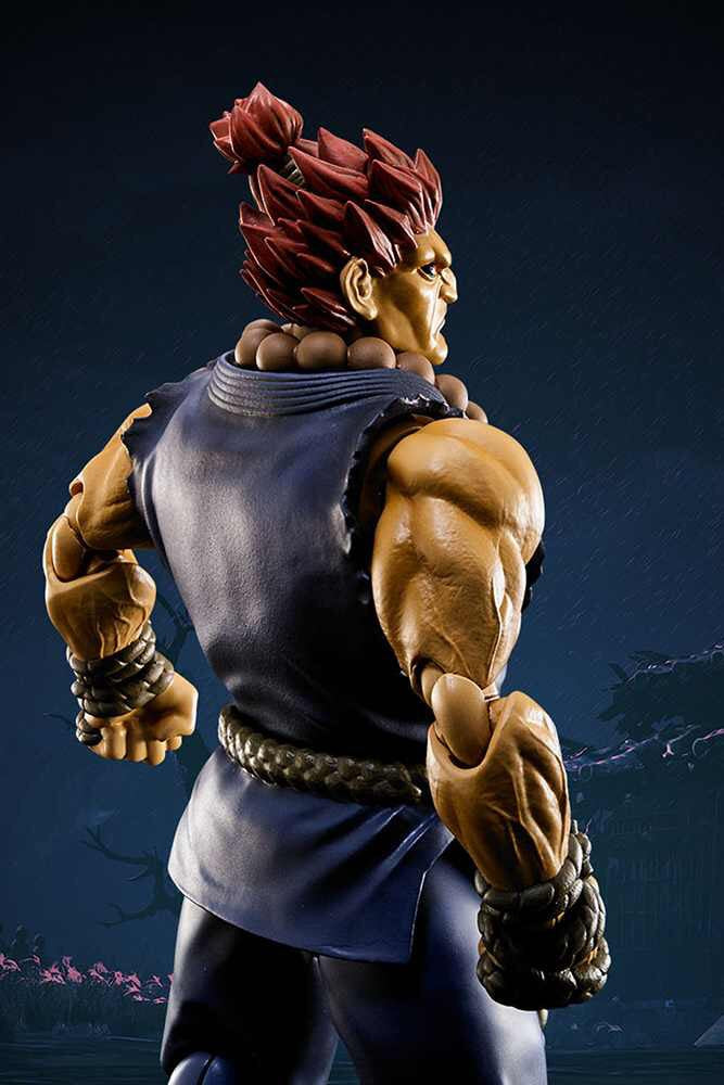 Street Fighter Official Akuma S.H.Figuarts Figure by Bandai T.N