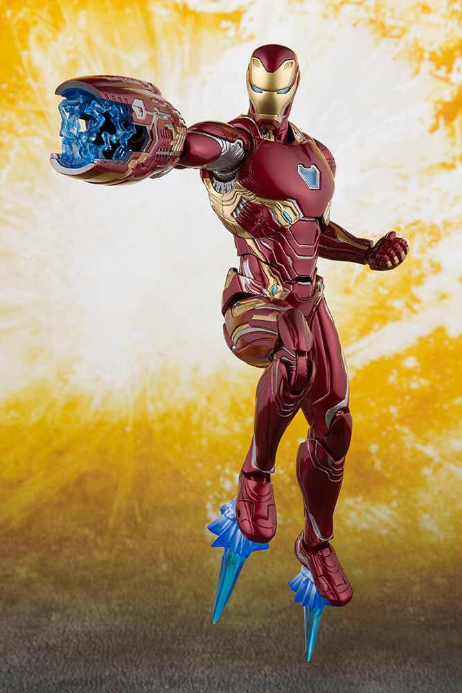 Avengers Infinity War Official Iron Man Mark 50 S.H.Figuarts by Bandai