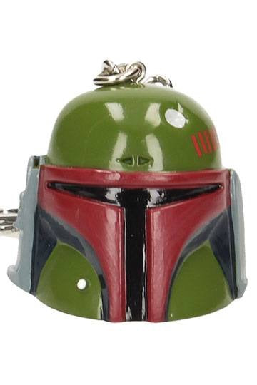 Star Wars Boba Fett Official PVC Helmet Keychain by SD Toys
