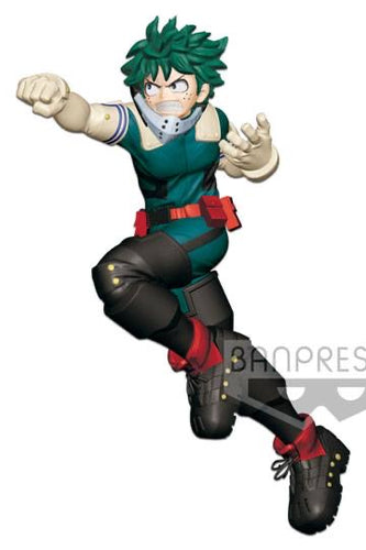 My Hero Academia Izuku Midoriya Enter the Hero Statue Banpresto