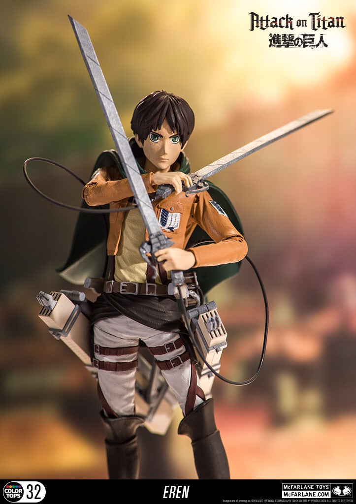 Attack on Titan Official Eren Yeager Figure by McFarlane Toys