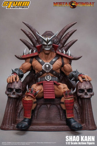 Mortal Kombat Shao Khan Official 1:12 Figure by Storm Collectibles