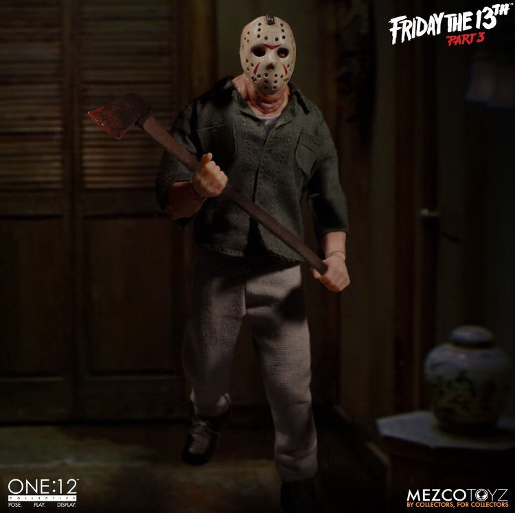 Friday the 13th Part 3 Jason Voorhees One:12 Collective Action Figure - Mezco Toyz