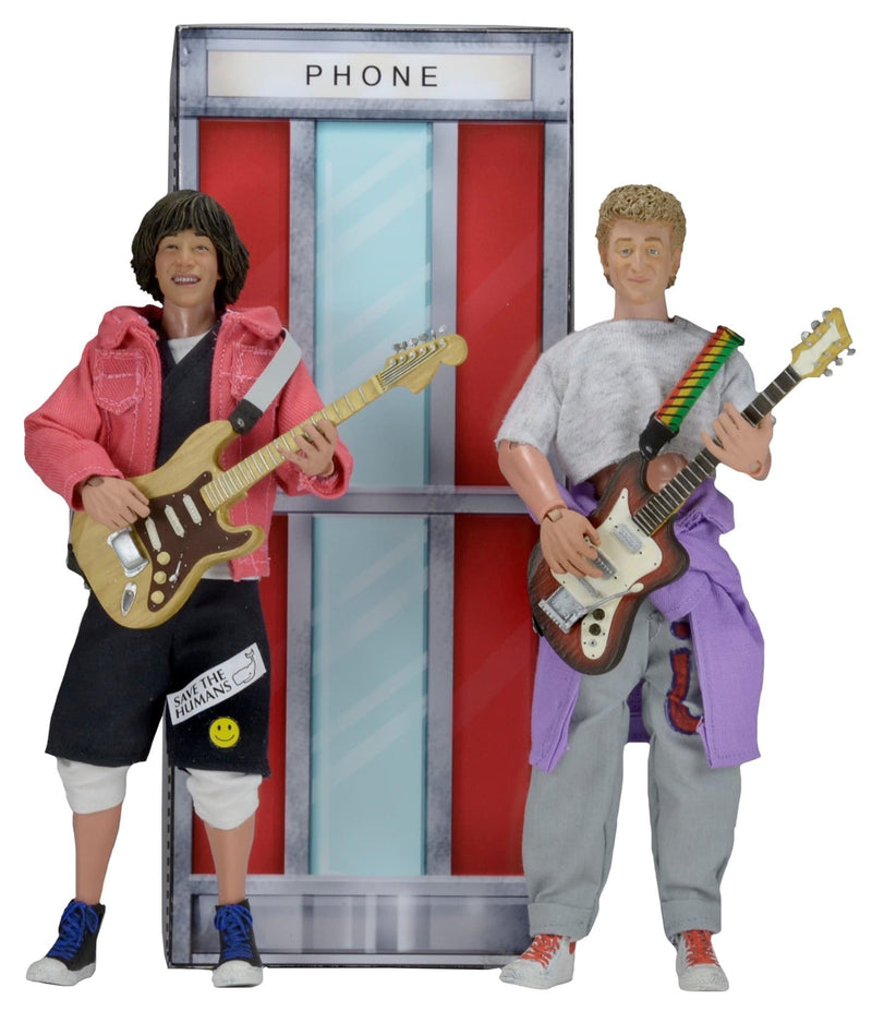Bill & Ted's Excellent Adventure Clothed Action Figures Boxset - NECA