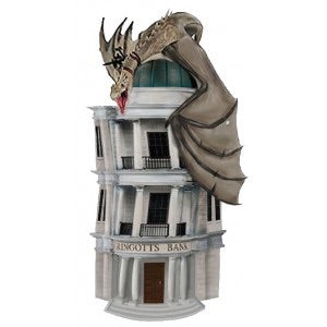 Harry Potter Official Gringotts Bust Bank by Monogram