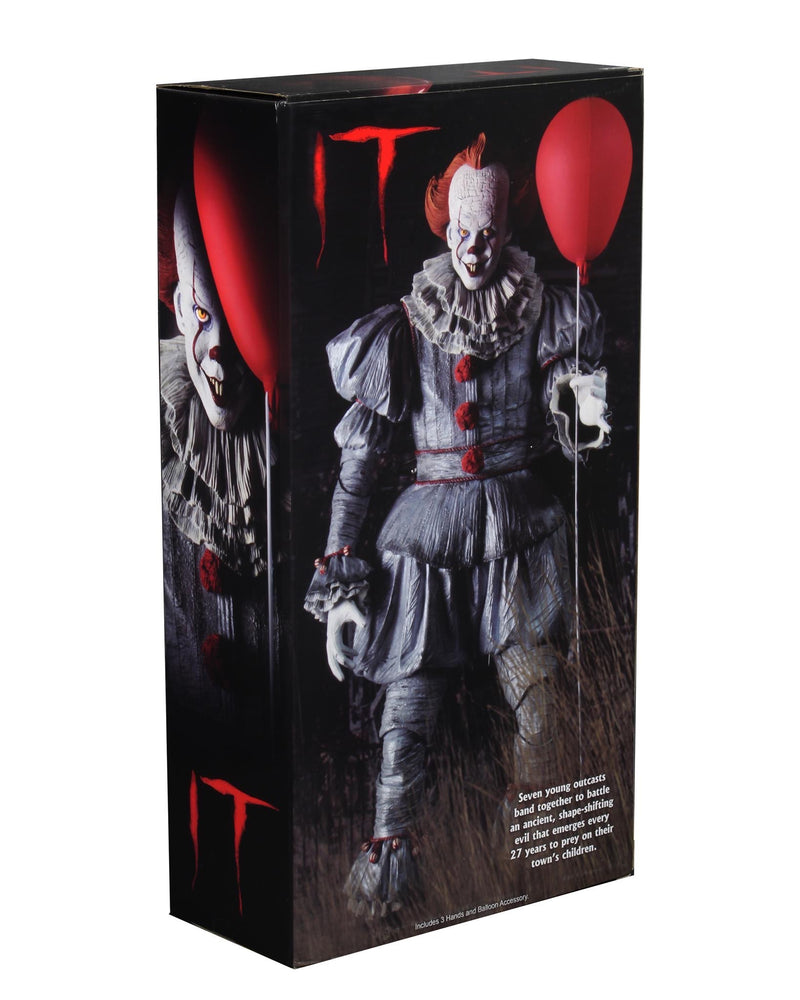 IT (2018) Pennywise 1/4 Scale Action Figure - NECA