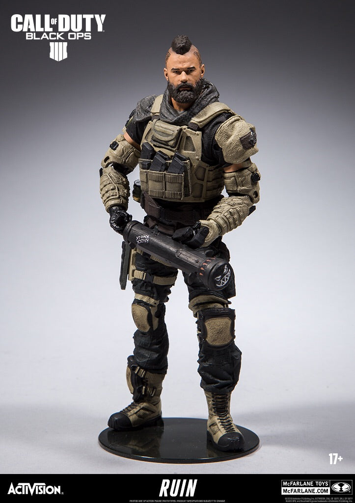 Call of Duty Black Ops 4 Official Ruin Figure by McFarlane Toys