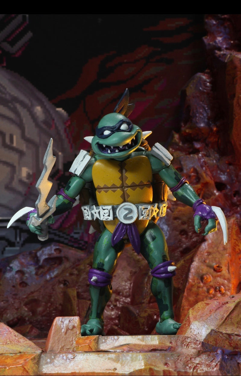 TMNT Turtles in Time Wave 1 Action Figures - NECA