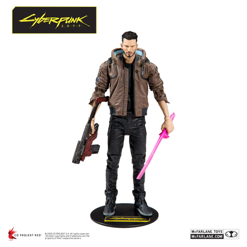 Cyberpunk 2077  Male V Action Figure by McFarlane Toys