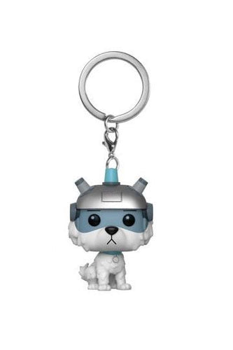Rick and Morty Official Snowball Keychain by Funko Pop!