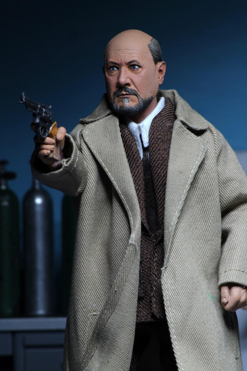 Halloween 2 (1981) Dr Loomis & Laurie Strode Clothed Action Figures - NECA