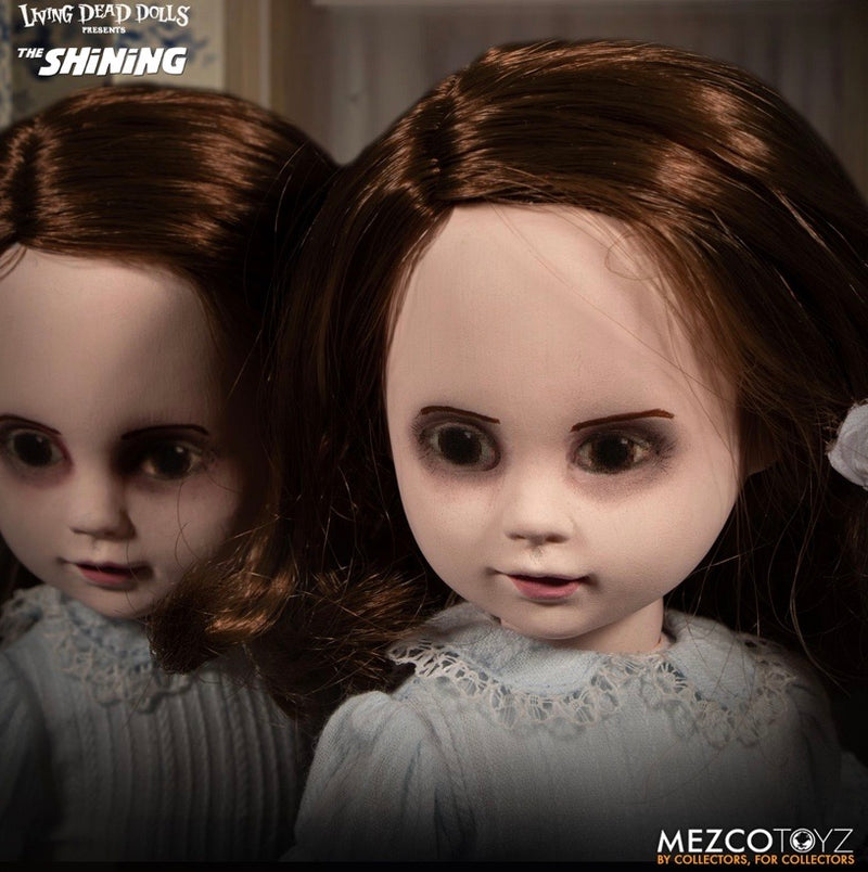 LDD The Shining Talking Grady Twins Dolls - Mezco Toyz