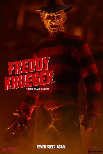 Nightmare on Elm Street Freddy Krueger Official Sideshow Collectibles