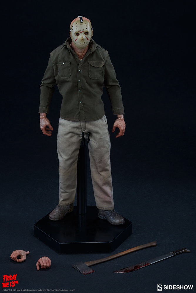 Friday the 13th Jason Voorhees Official Figure Sideshow Collectibles