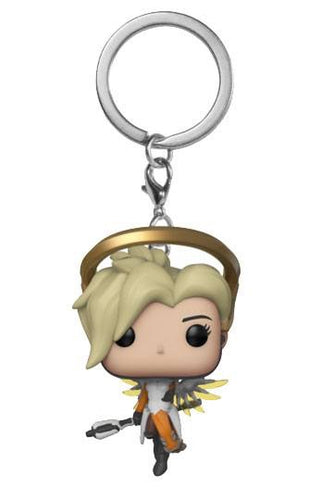 Overwatch Mercy Official Keychain by Funko Pop!