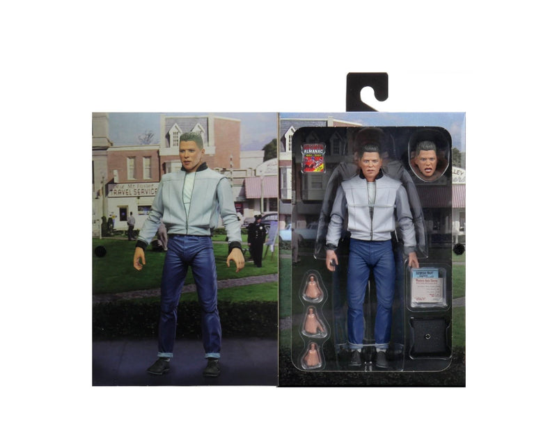 Back To The Future Biff Tannen Ultimate Action Figure - NECA