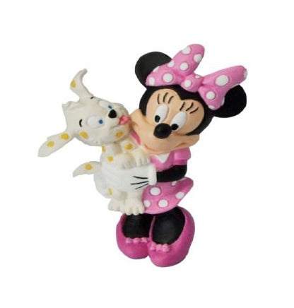 Disney Mickey Mouse C.H Official Minnie Mouse 7cm Figure by Bullyland