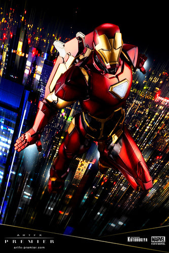 Marvel Universe Iron Man Premier Artfx Limited Edition Statue by Kotobukiya