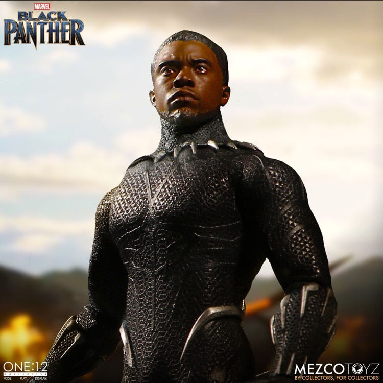 MARVEL Black Panther One:12 Action Figure - Mezco Toyz