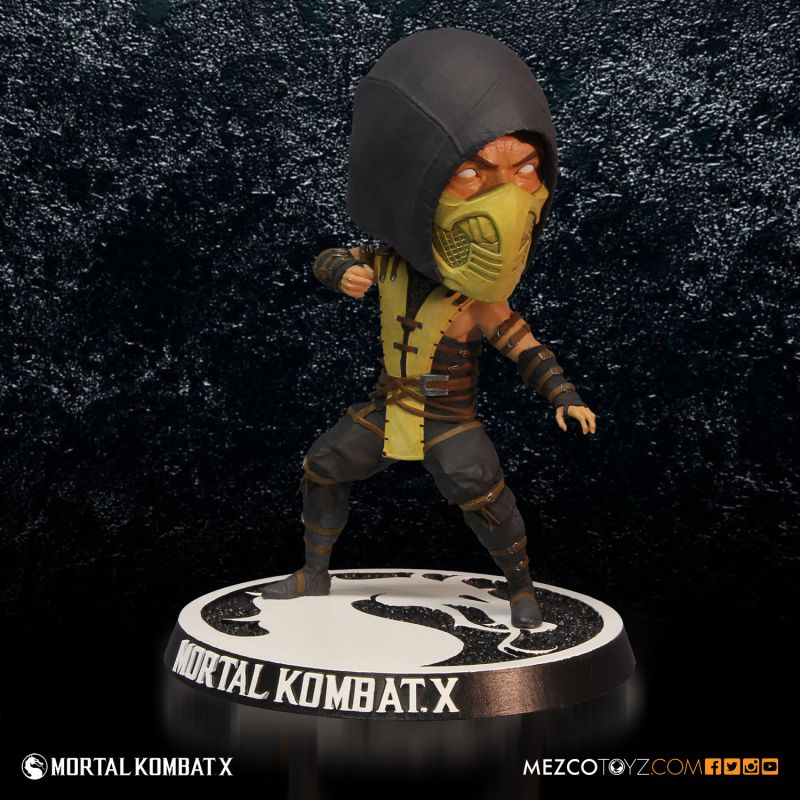 Mortal Kombat X Scorpion Official Bobble Head by Mezco Toys