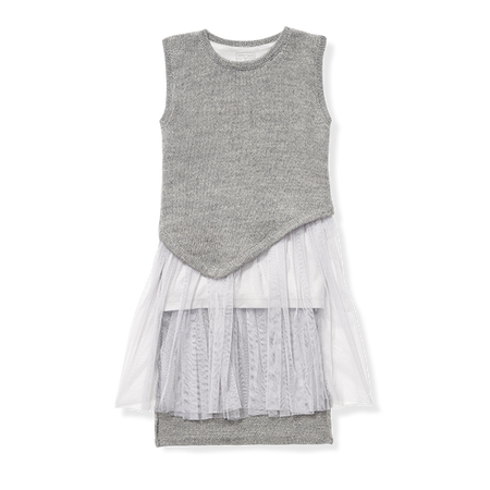 Girl Asymmetrical Dress