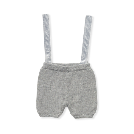 Alpaca Shorts With Suspenders