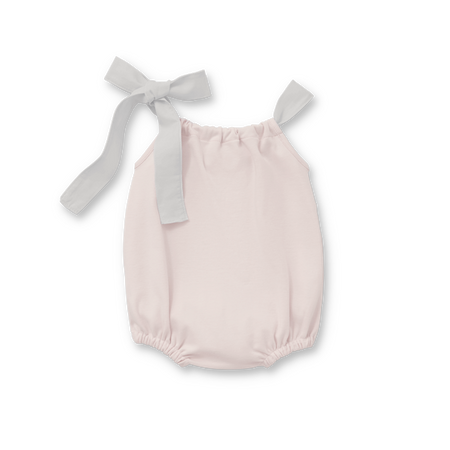 Girl Romper With Tie
