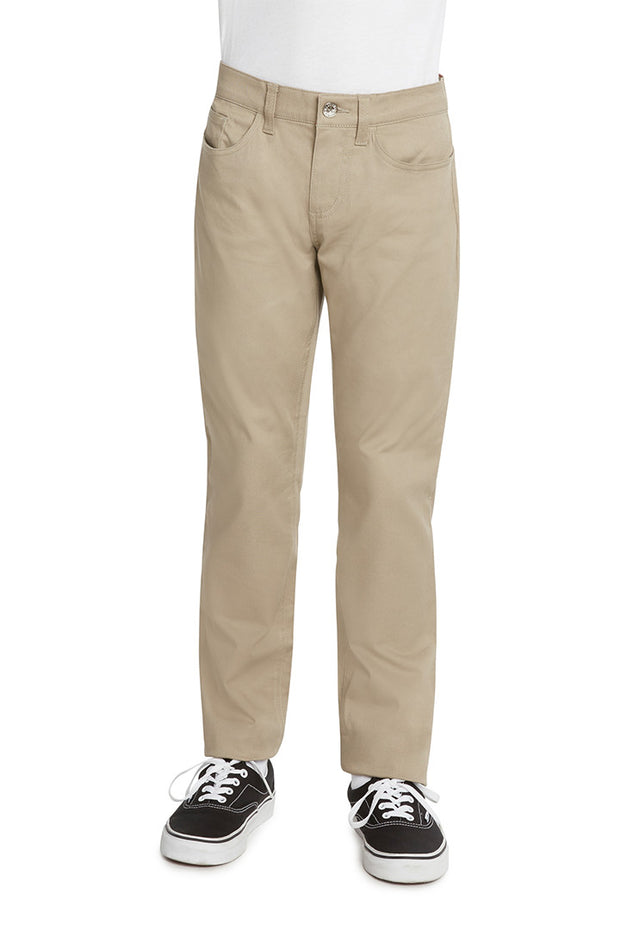 Boy's 5 Pocket Skinny Leg Pant - W9S