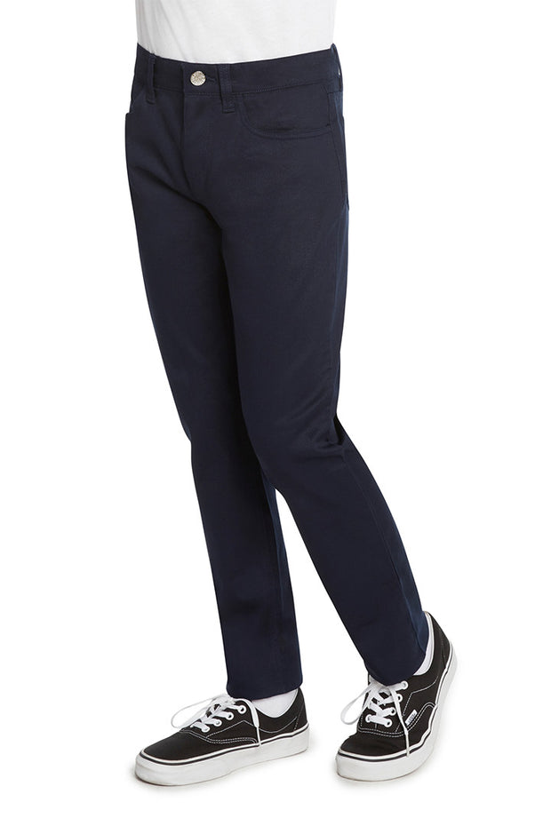 Boy's 5 Pocket Skinny Leg Pant - LEC