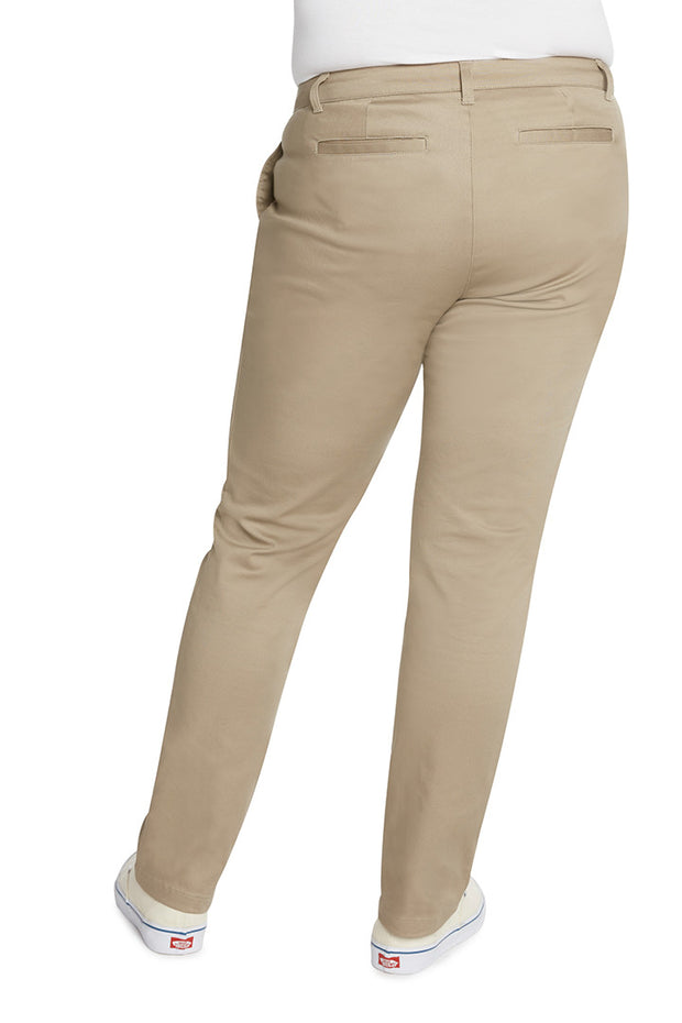Plus Size 5 Pocket Skinny Leg Pant - W9S
