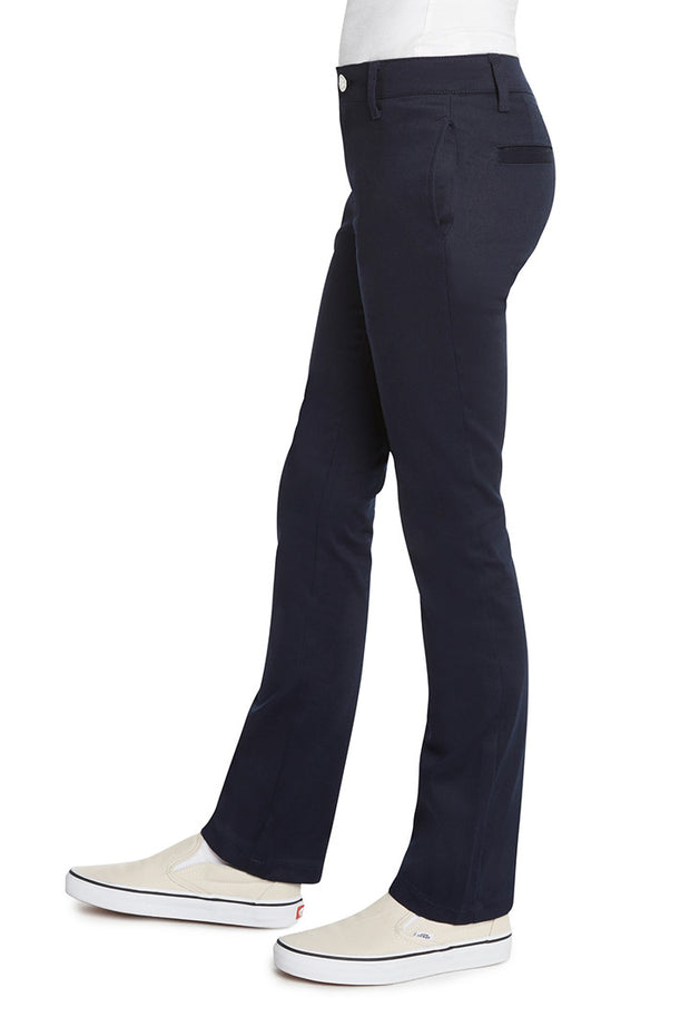 Girl's 4 Pocket Straight Leg Pant