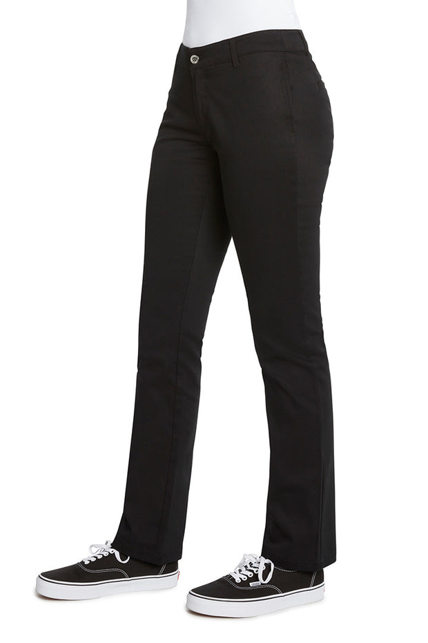 Junior's 4 Pocket Straight Leg Pant